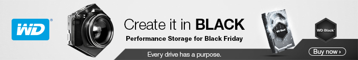 WD Black Friday Black Drives