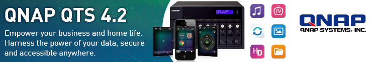 Learn more about the QNAP QTS range