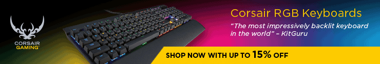 Corsair RGB Keyboards