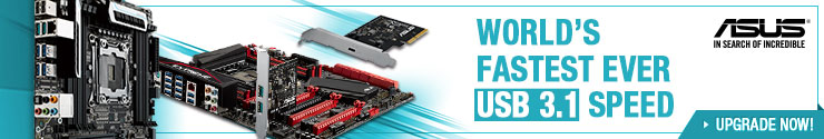 Asus USB 3.1 Motherboards