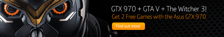 Asus STRIX GTX 970 with GTA V FREE