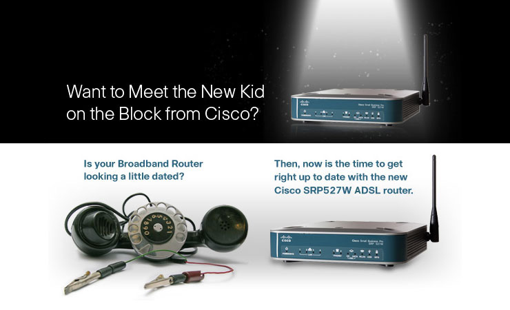 Meet the new kid on the block from Cisco