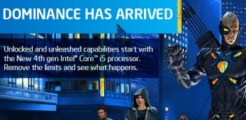 Intel processors-sponsors of tomorrow. Fast, efficient and smart