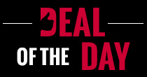 Grab a bargain everyday with a deal of the day