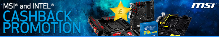 MSI Intel Cashback