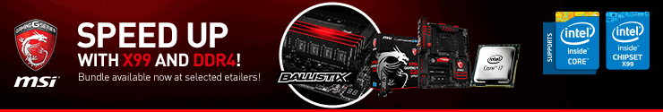 MSI X99 Bundle