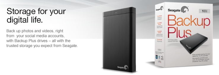 Seagate Backup Plus Hard Drives