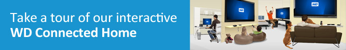 intertactive connected home banner