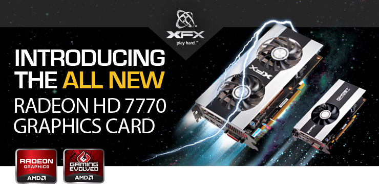 New XFX 7700 Series Graphics Card