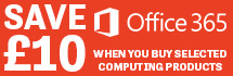 Save £10 on Office 365