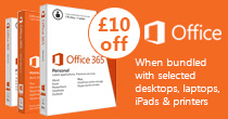 £10 off Office when bundled with selected devices