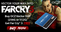 OCZ Vector Series With Free FarCry 3 Game