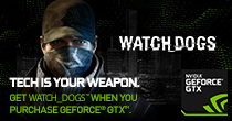 NVIDIA Gear Up With GeForce GTX & Claim Watchdogs FREE!