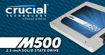 Crucial M500 Solid State Drives