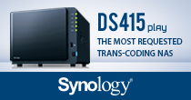 Synology DS415Play 4 Bay Desktop NAS