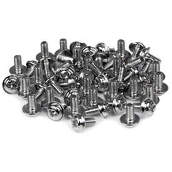 StarTech.com PC Mounting Computer Screws M3 x 1/4in Long Standoff - 50 Pack