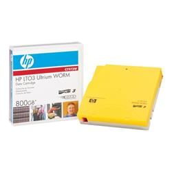 HP - LTO Ultrium WORM 3 - 400GB/800GB - storage media