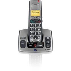 BT Freestyle 750 Single Cordless Phone With Answer Machine (Grey)
