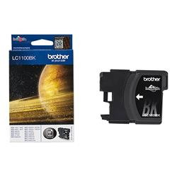 Brother LC1100BK - Print cartridge - 1 x black