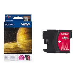 Brother LC1100M - Print cartridge - 1 x magenta