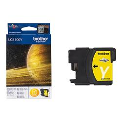 Brother LC1100Y - Print cartridge - 1 x yellow
