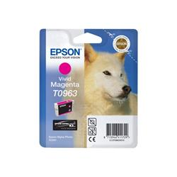 Epson T0963 - Print cartridge - 1 x vivid magenta - 865 pages