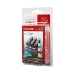 Canon CLI-521 Multipack Ink Tank (Yellow/Cyan/Magenta)