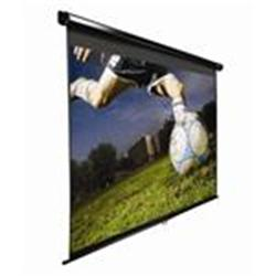 "Elite Screens 120"" Manual 16:9 Format Screen - Black"