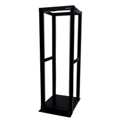 StarTech.com 36U Adjustable 4 Post Server Equipment Open Frame Rack Cabinet