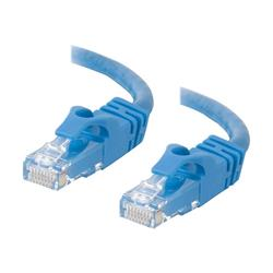 C2G .5m Cat6 550 MHz Snagless Crossover Cable - Blue