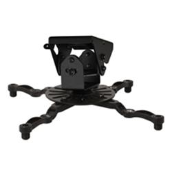 B-Tech Projector Ceiling Mount- Black