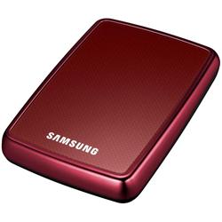 "Samsung 1TB S2 Portable 2.5"" USB 2.0 Wine Red"