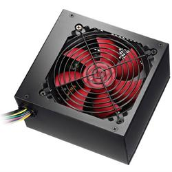 Best Value Alpine 500W PSU 120mm Red Fan 2 x SATA (PFC)