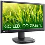 "ViewSonic VG2436WM-LED 24"" Widescreen 5MS 1920 x 1080 DVI-D VGA LED Monitor with Speakers"