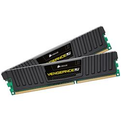 Corsair 8GB (2x4GB) DDR3 1600Mhz CL9 Vengeance Low Profile Black Performance Desktop Memory Kit