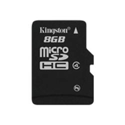 Kingston microSD 8GB Class 4 Memory Card