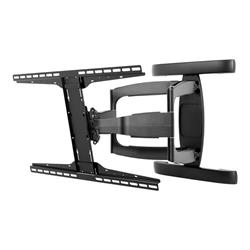 Peerless SmartMount® Universal Articulating Dual-Arm Wall Mount (Black)