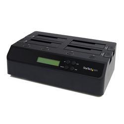 StarTech.com 4 Bay USB 3.0 eSATA to SATA Standalone 13 HDD Hard Drive Duplicator Dock