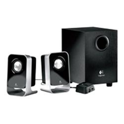Logitech LS21 - 2.1-channel PC multimedia speaker system - 7 Watt (Total)