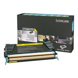 Lexmark - Toner cartridge - 1 x yellow - 6000 pages - LCCP, LRP