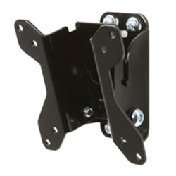 "B-Tech LCD Screen Wall Mount with Tilt - Max 23"" Black"