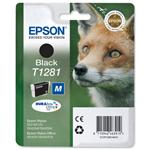 Epson T1281 - Print cartridge - 1 x black