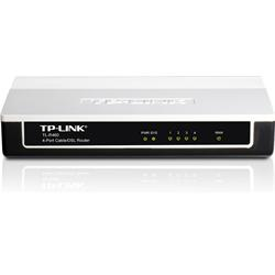 TP LINK 4 Port Router 1 x WAN 4 x LAN Cable/DSL Router IP QoS