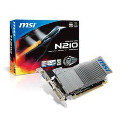 MSI GeForce GT 210 589MHz 1GB PCIExpress HDMI Low Profile