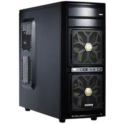 Gigabyte GZ-G2 Gaming Case with 2 Front Fans