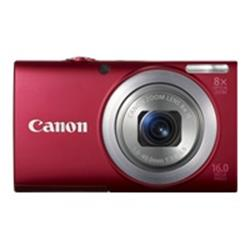 Canon Powershot A4000 IS Digital Camera - Red