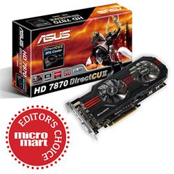 Asus AMD Radeon 7870 HD 2GB PCI-Express 3.0 HDMI DIRECTCU II