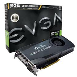 EVGA GeForce GTX 680 1058MHz 2GB PCI-Express 3.0 HDMI SuperClocked