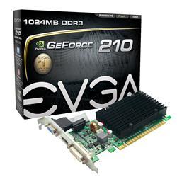 EVGA GeForce GT 210 520MHz 1GB PCI-Express 2.0 HDMI.