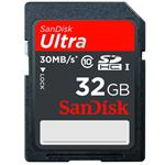 SanDisk Ultra - Flash memory card - 32 GB - Class 10 - SDHC UHS-I